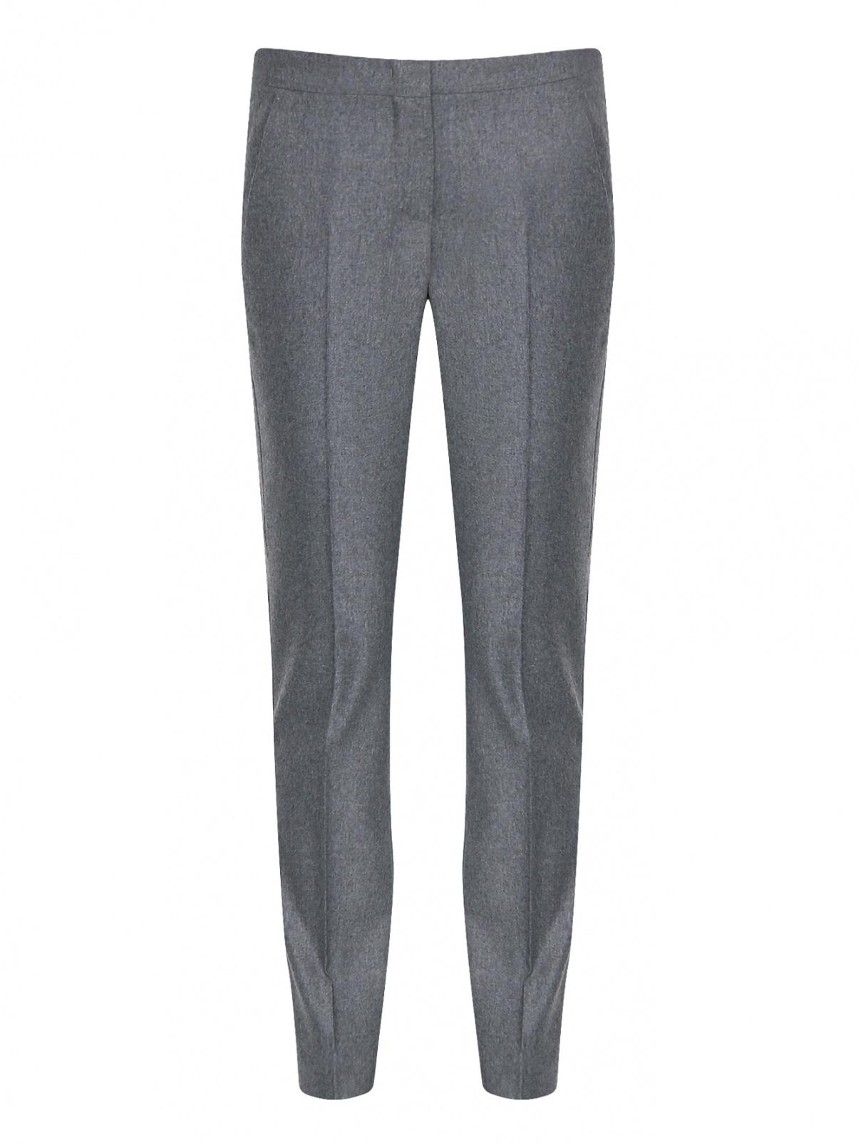 Укороченные брюки из шерсти и кашемира Max Mara  –  Общий вид