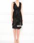 Платье-мини из смешанного шелка с узором Antonio Marras  –  Модель Общий вид