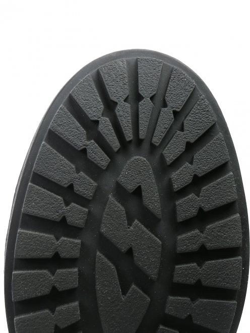 Ботинки из кожи на молнии - Обтравка4