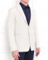 Пиджак однобортный с фактурным узором Emporio Armani  –  Модель Верх-Низ