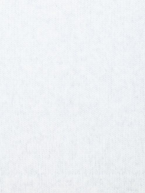 Джемпер из хлопка с круглым вырезом - Деталь