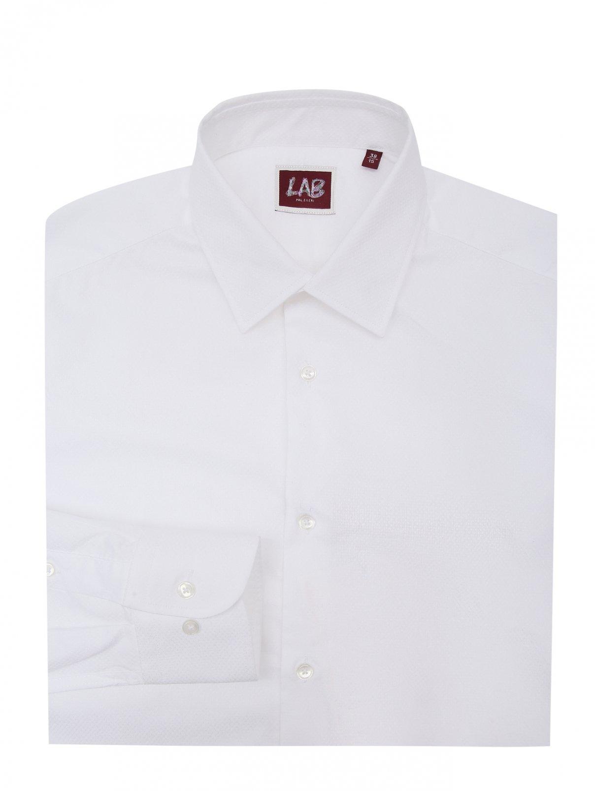 Рубашка полуприталенная из хлопка Pal Zileri  –  Общий вид