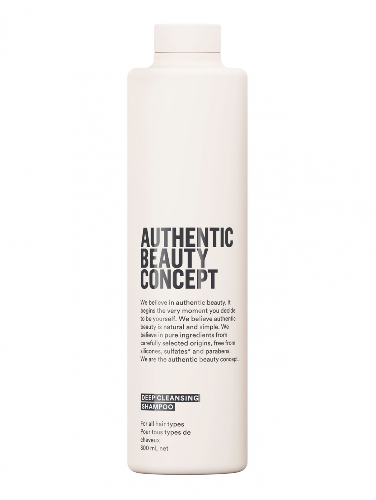 Шампунь Deep Cleansing 300 мл Authentic Beauty Concept  –  Общий вид