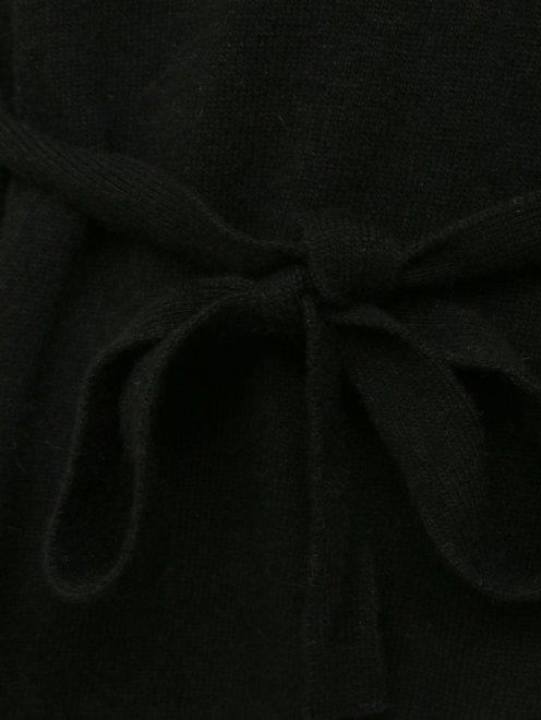 Джемпер мелкой вязки с поясом - Деталь1