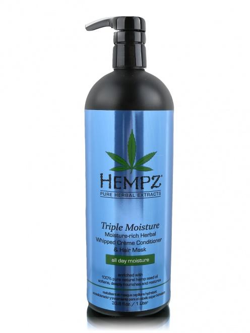 Кондиционер 1000 мл Тройное увлажнение Hair Care Hempz - Общий вид