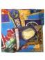 Платок из хлопка и шелка с принтом Eton  –  Общий вид