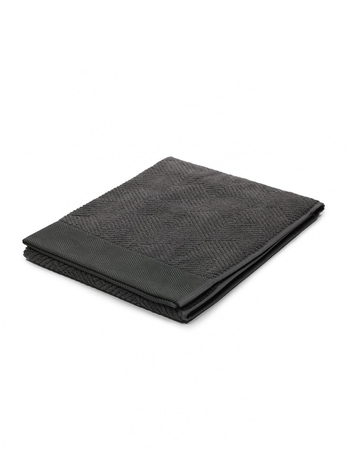 Полотенце из хлопковой мохеровой ткани с фактурным орнаментом 60 x 110 Frette  –  Общий вид