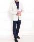 Пиджак однобортный с фактурным узором Emporio Armani  –  Модель Общий вид