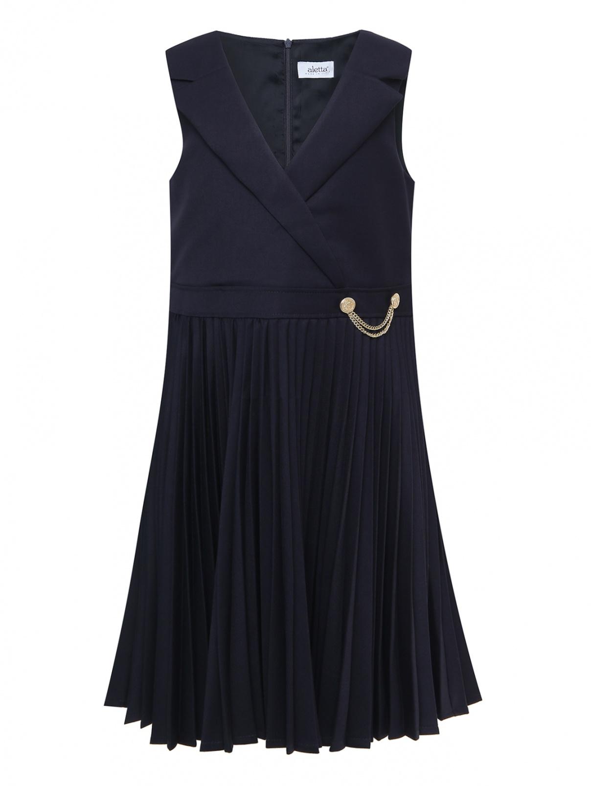 Платье-сарафан с юбкой-гофре Aletta Couture  –  Общий вид
