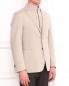 Пиджак из хлопка с отстегивающимся подкладом Corneliani ID  –  Модель Верх-Низ