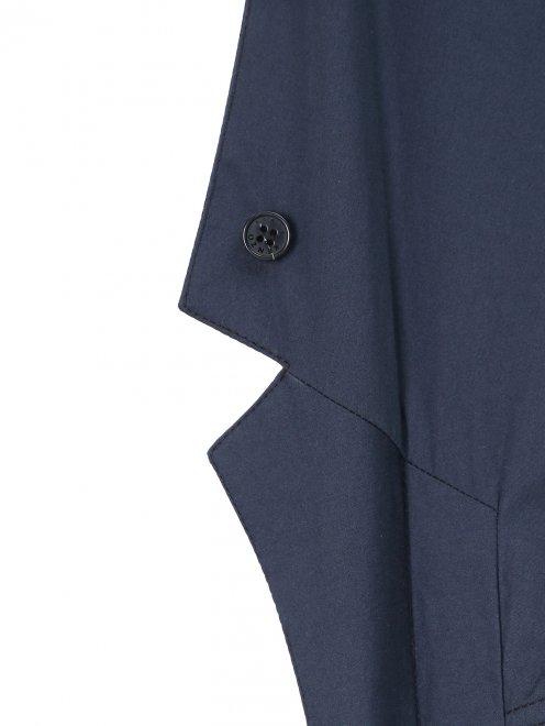Легкий однобортный пиджак из хлопка  - Деталь1