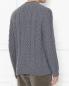 Джемпер из шерсти с узорной вязкой Brooks Brothers  –  МодельВерхНиз1