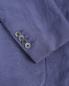 Пиджак однобортный из льна и шелка LARDINI  –  Деталь