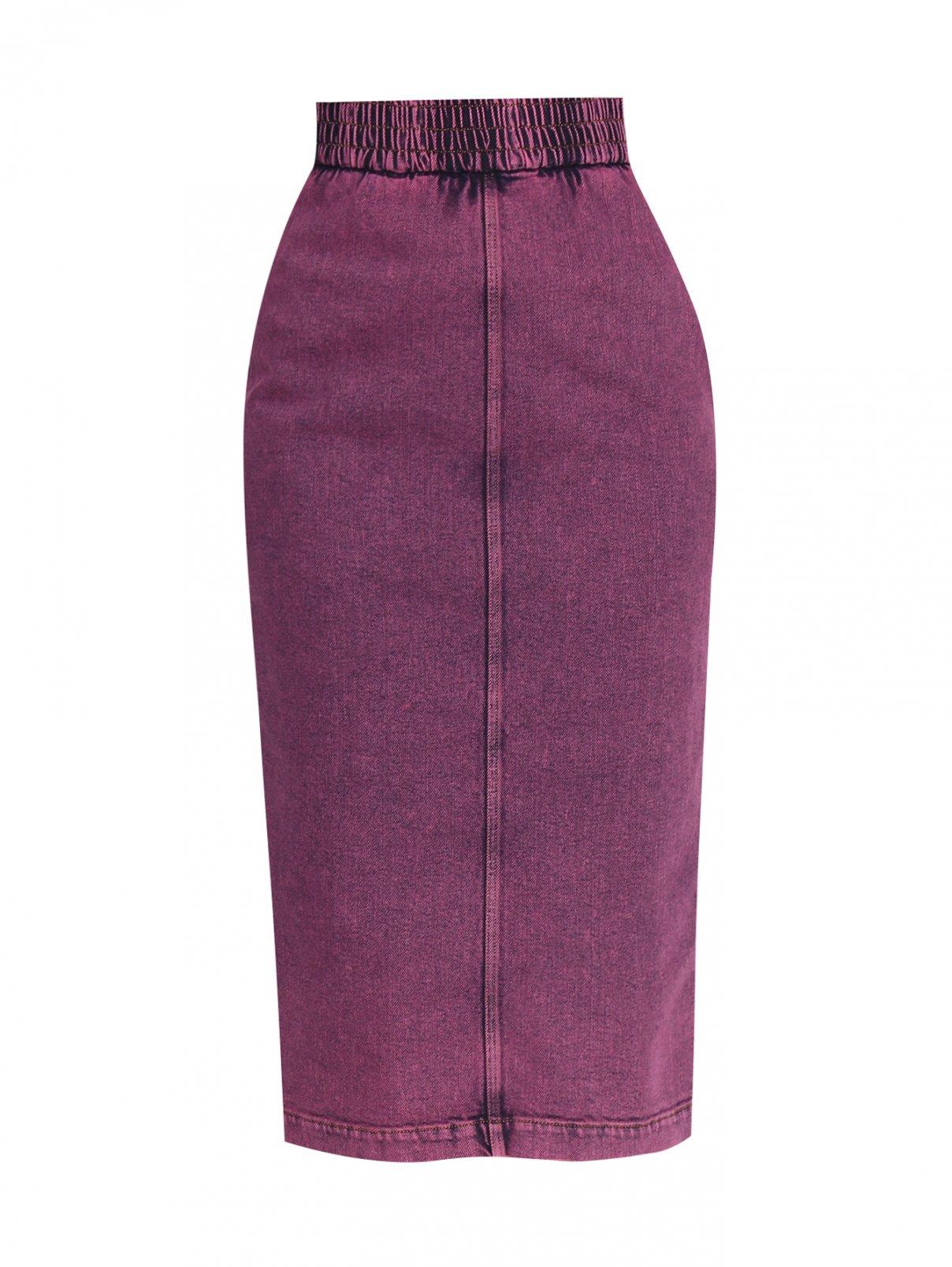Джинсовая юбка-карандаш N21  –  Общий вид