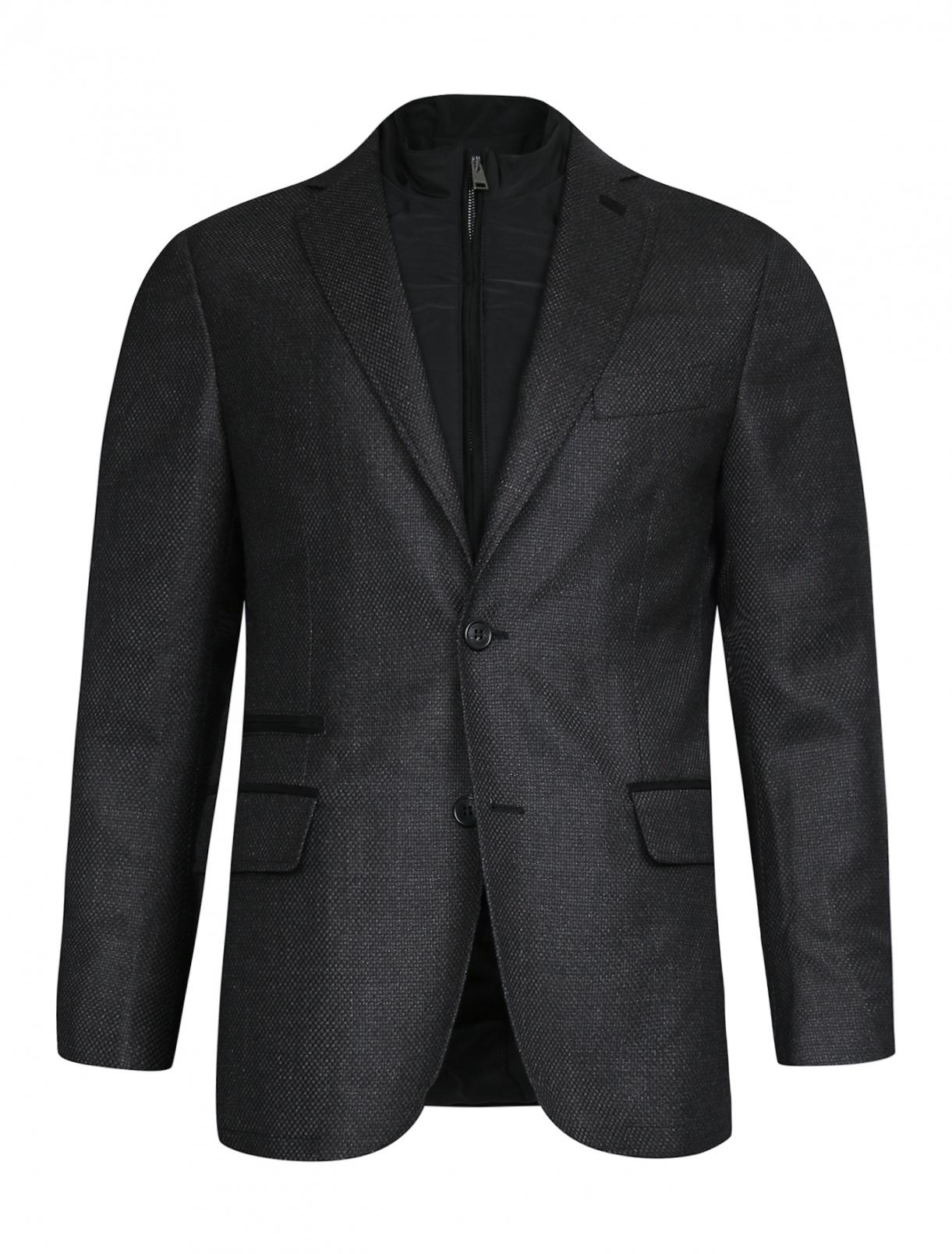 Пиджак из шерсти с подстежкой Pal Zileri  –  Общий вид