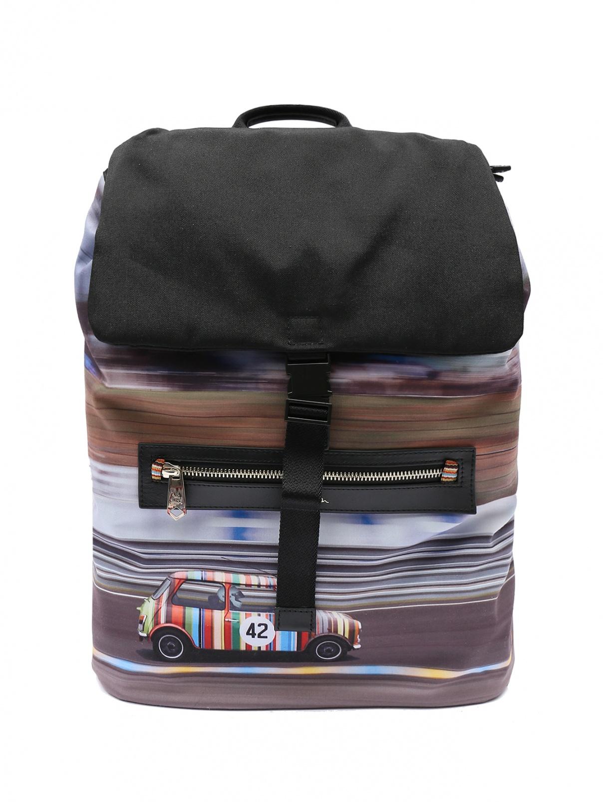 Рюкзак из текстиля Paul Smith  –  Общий вид