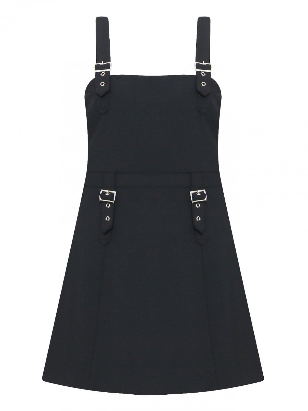 Платье-мини с металлической фурнитурой Opening Ceremony  –  Общий вид