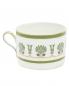 Чайная чашка с орнаментом и золотой окантовкой Richard Ginori 1735  –  Обтравка2