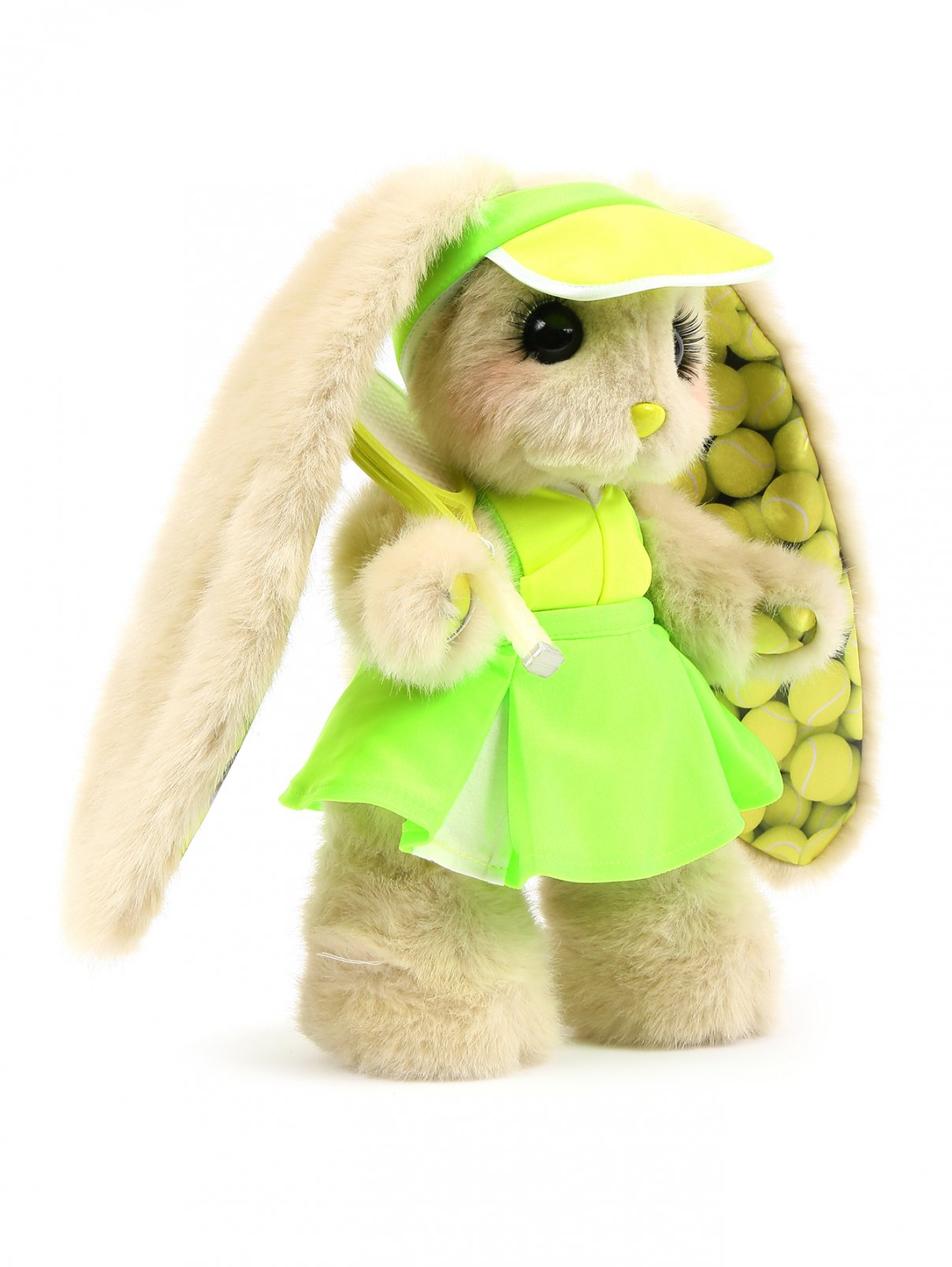 """Коллекционная игрушка """"Зайка Пиглет""""-теннисистка Эмили Piglette  –  Общий вид"""