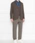 Пиджак трикотажный из хлопка LARDINI  –  МодельОбщийВид