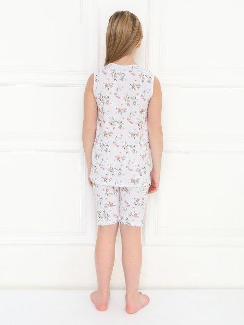 Пижама с цветочным узором La Perla - МодельОбщийВид2