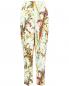 Свободные укороченные брюки с узором Philosophy Di Lorenzo Serafini  –  Общий вид
