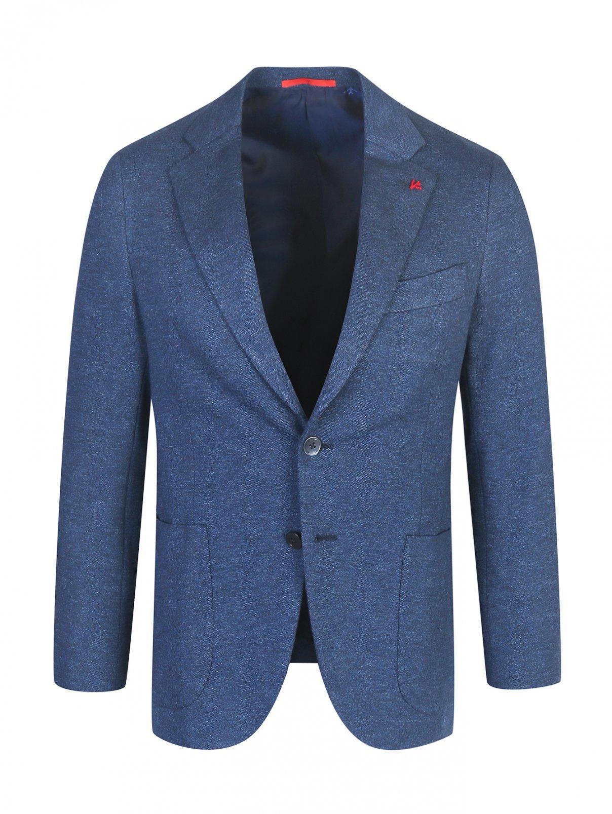 Пиджак из хлопка Isaia  –  Общий вид