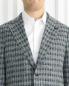Пиджак однобортный из шерсти с узором LARDINI  –  Модель Общий вид1