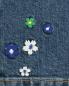 Джинсы с декоративной вышивкой Alice+Olivia  –  Деталь2