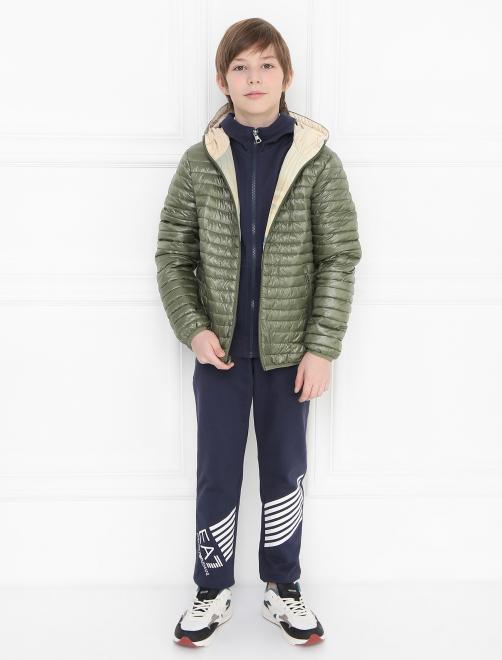 Куртка ветрозащитная с узором Freedomday - Общий вид