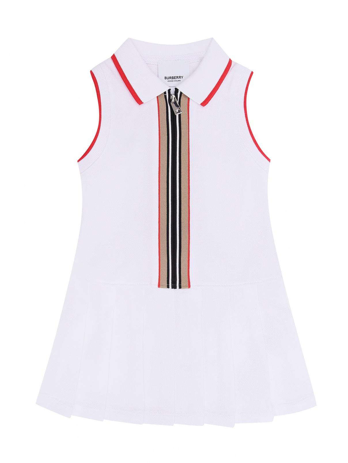 Платье без рукавов на молнии Burberry  –  Общий вид