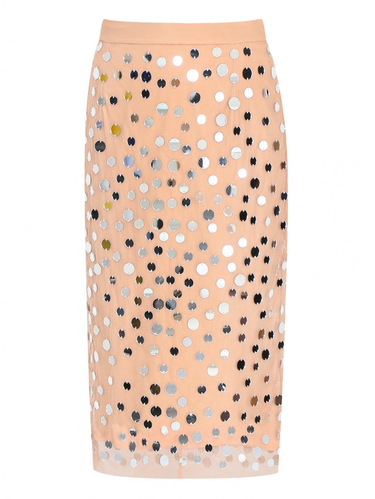 Юбка из сетки с декоративной отделкой Essentiel Antwerp  –  Общий вид