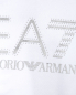 Толстовка из хлопка с капюшоном EA7 Emporio Armani  –  Деталь
