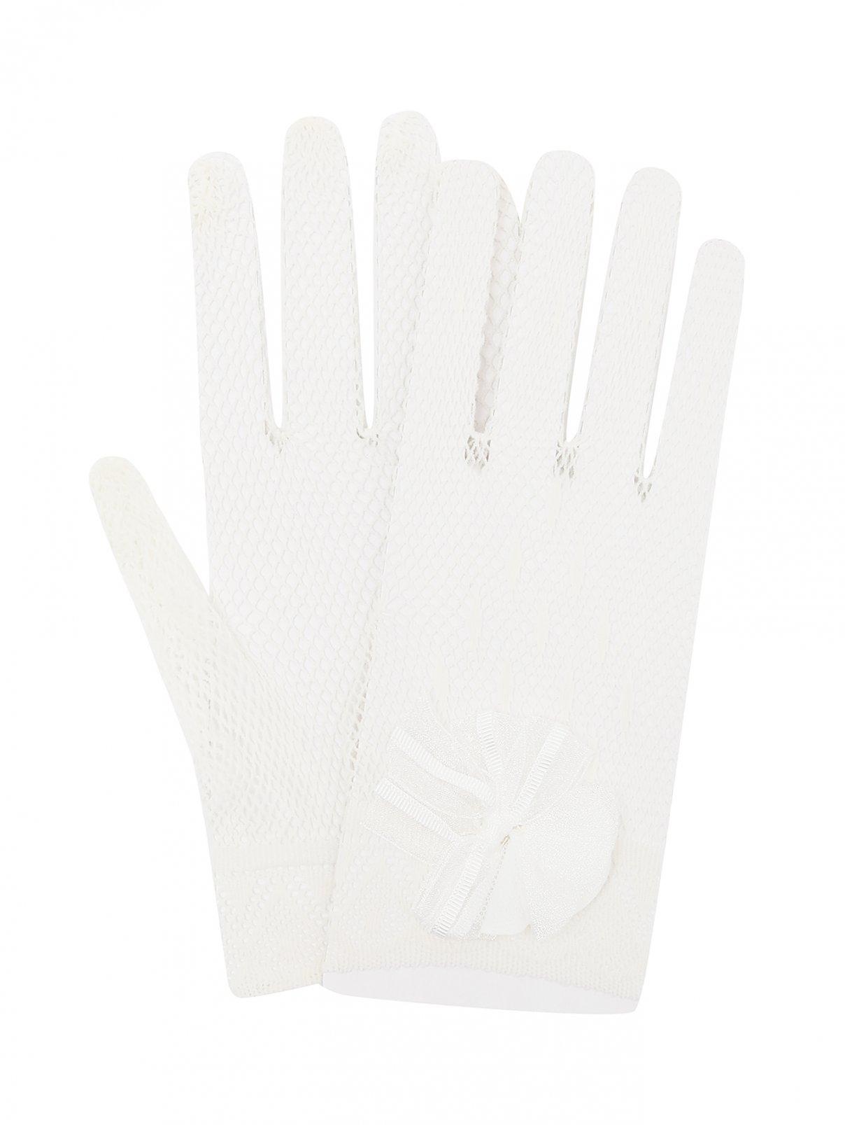 Перчатки ажурные с декором Aletta Couture  –  Общий вид