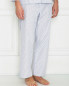 Пижама из хлопка в полоску Frette  –  МодельВерхНиз