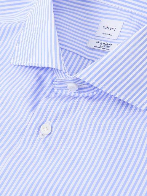 Рубашка из хлопка с узором Carrel - Деталь