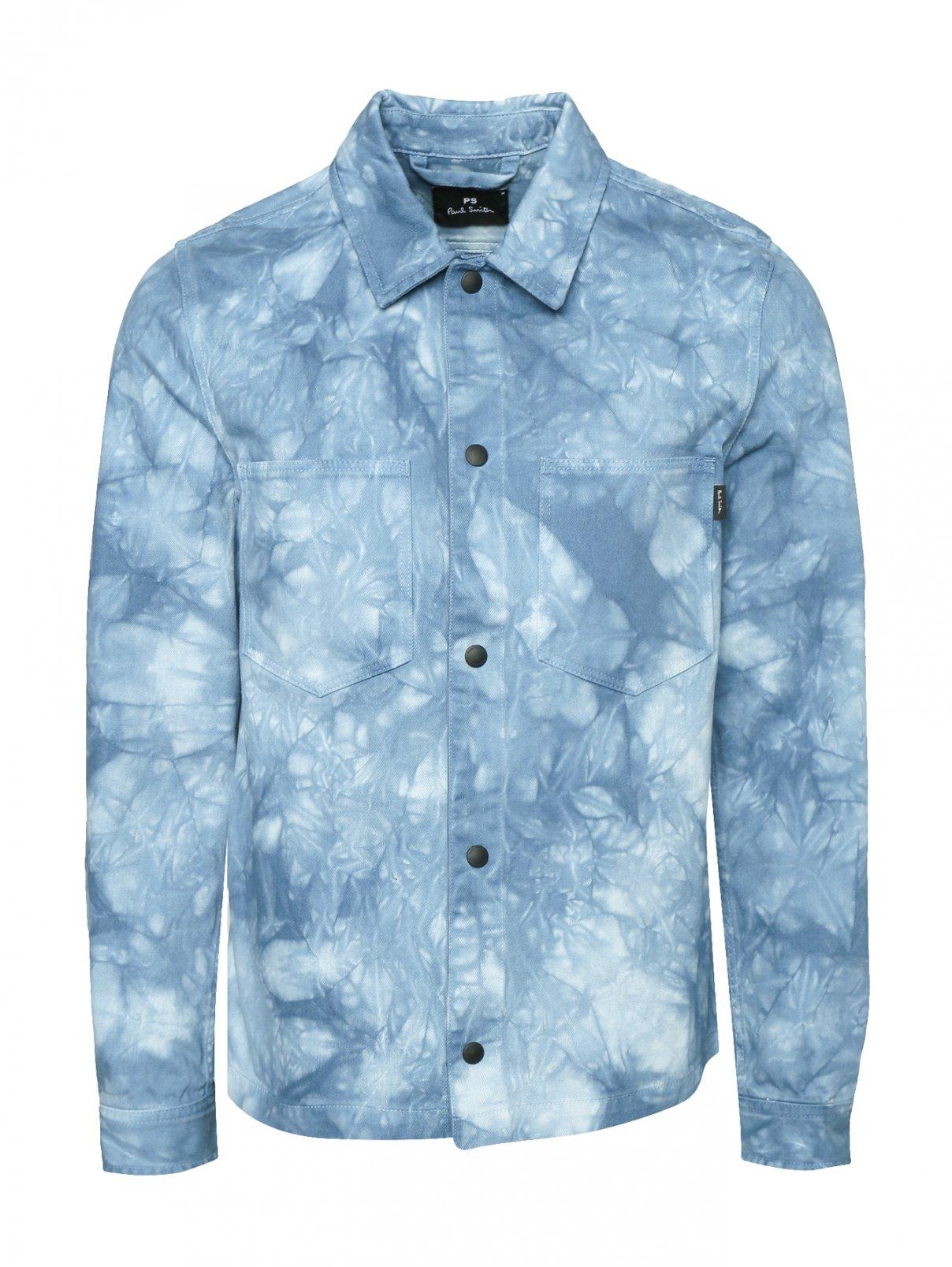 Куртка из денима с узором Paul Smith  –  Общий вид
