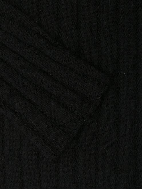 Водолазка из шерсти, кашемира и вискозы с декором - Деталь1