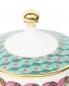 Кружка  с крышкой из фарфора с узором Richard Ginori 1735  –  Деталь1