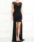 Платье-мини со шлейфом VELOUDAKIS  –  Модель Общий вид