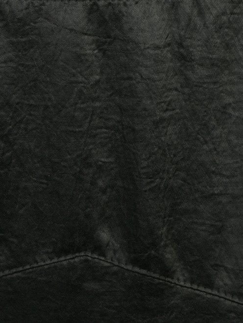 Юбка-миди с кружевной отделкой - Деталь