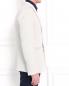 Пиджак однобортный с фактурным узором Emporio Armani  –  Модель Верх-Низ2