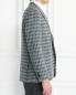 Пиджак однобортный из шерсти с узором LARDINI  –  Модель Верх-Низ2