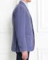 Пиджак однобортный из льна и шелка LARDINI  –  Модель Верх-Низ2